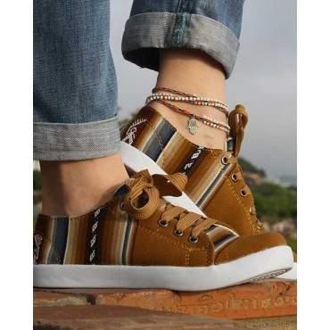 La chaussure des Incas camel