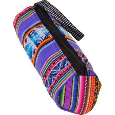 Trousse à crayons indienne en aguayo