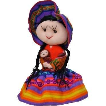 Poupée péruvienne Cholita