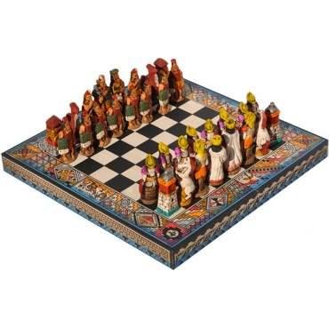 Jeux d'échec inca - espagnol