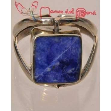 Bague réversible lapis-lazuli et turquoise