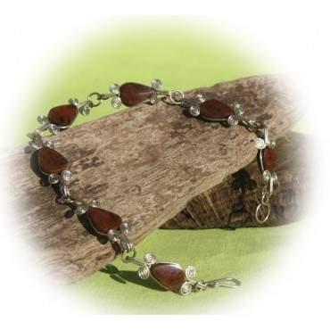 Bracelets avec sept pierres