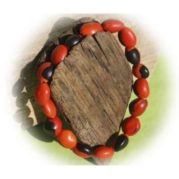 Bracelet graines Huayruro