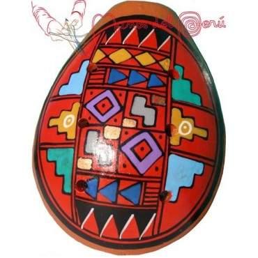 Ocarina en céramique du marché de Pisac