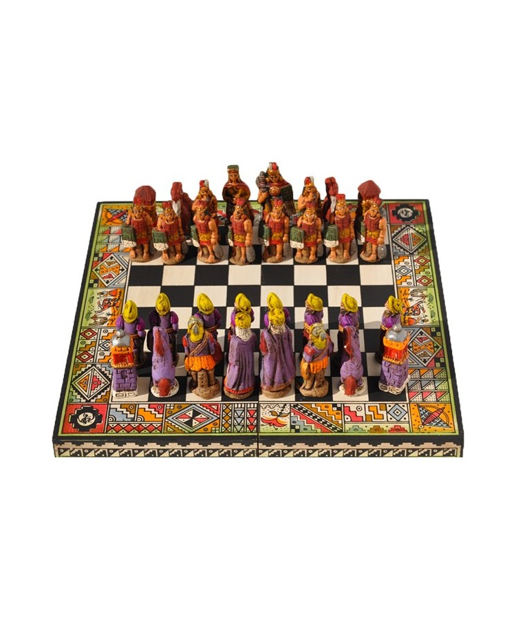 Jeux d'échec en bois