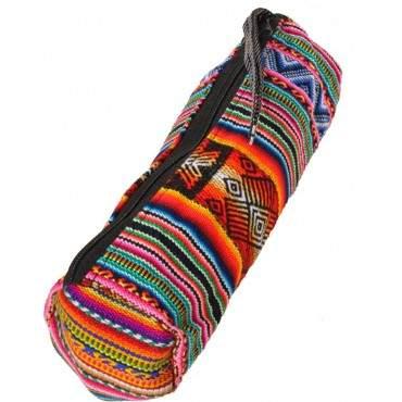Trousse à crayons indien en aguayo