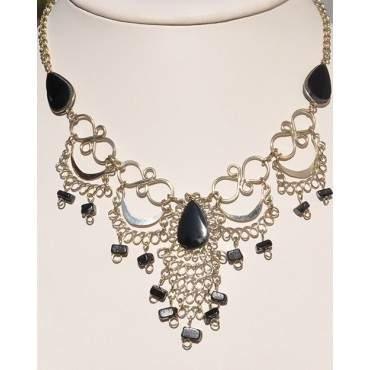 Authentique collier des Andes onyx