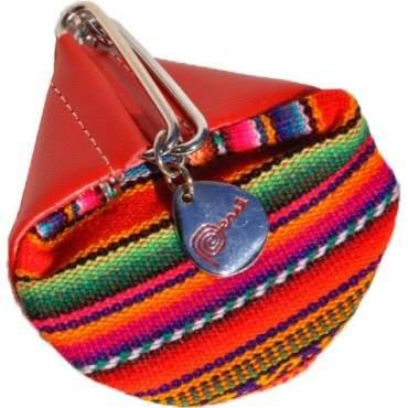 Le porte monnaie Aguayo rouge
