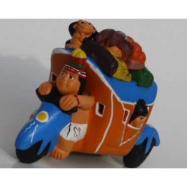 Taxi-Chola péruvien Amazone